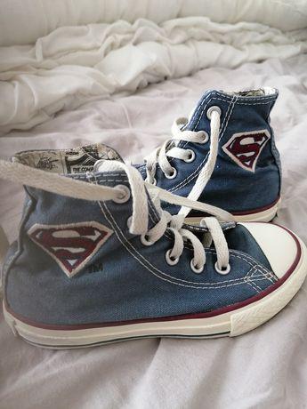 Tramki dziecięce Converse All Star rozmiar 27 superman