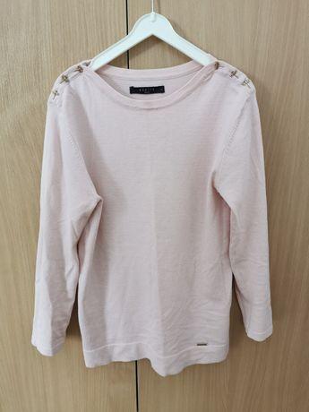 Jasnoróżowy sweter Mohito S