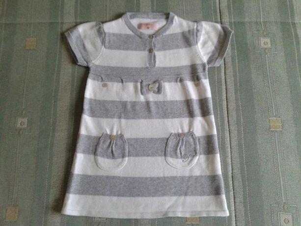 Vestido em malha da TIFOSI para menina de 1 ano