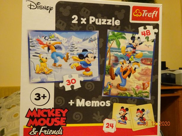 Puzzle Trefl Disney Mickey Mouse&Friends
