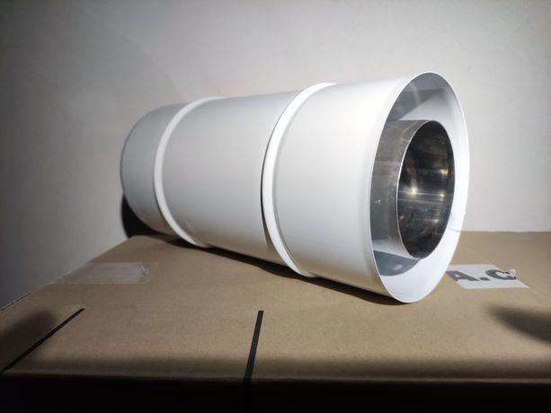 Jeremias rura spalinowa komin fi 80/125 250 mm Twin04
