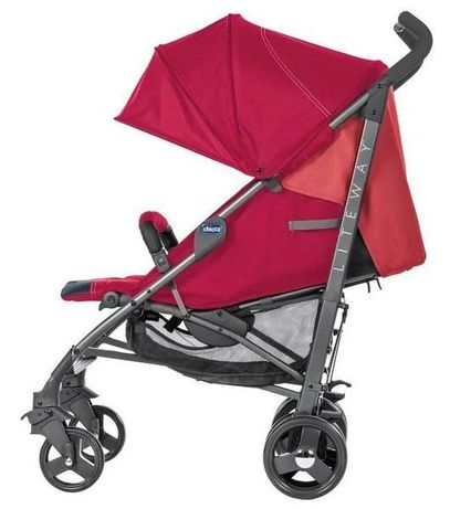 Прогулянкова коляска Chicco Lite Way 3 Top Red Berry