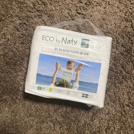 Підгузки Eco by Naty size 3 / памперсы размер 3
