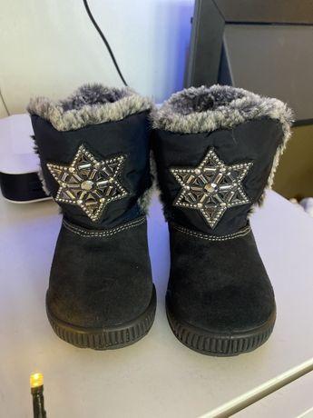 Buty buciki Primigi 22  ocieplane śniegowce owcza wełna