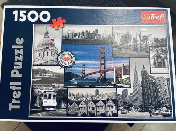 Puzzle 1500 elementów USA