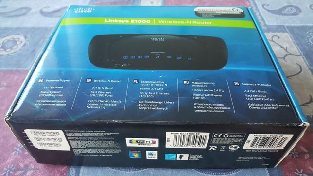 Router Linksys Cisco E1000 ; JAK NOWY-ZAPRASZAM
