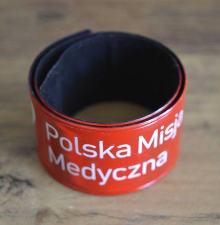 """Opaska odblaskowa """"Polska Misja Medyczna"""""""