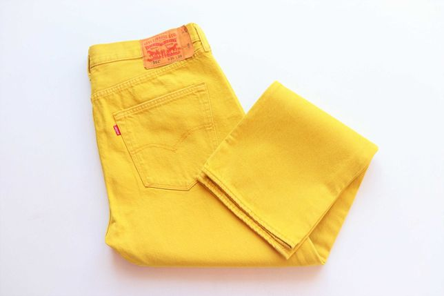 Spodnie męskie jeansy Levis 501 W36 L30 idealne jak nowe okazja Levi's
