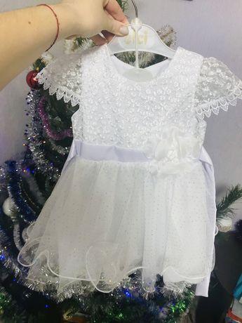 Платье новогоднее костюм для девочки 2 года