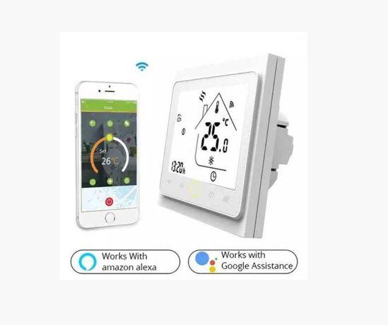 Терморегулятор , програматор для теплого пола  Wi-Fi