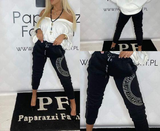 Eleganckie spodnie bluzka paparazzi kolory