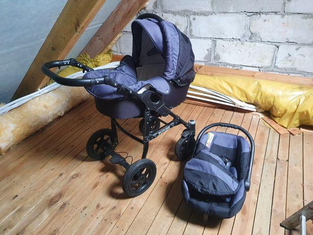 Wózek dziecięcy głęboki 3w1