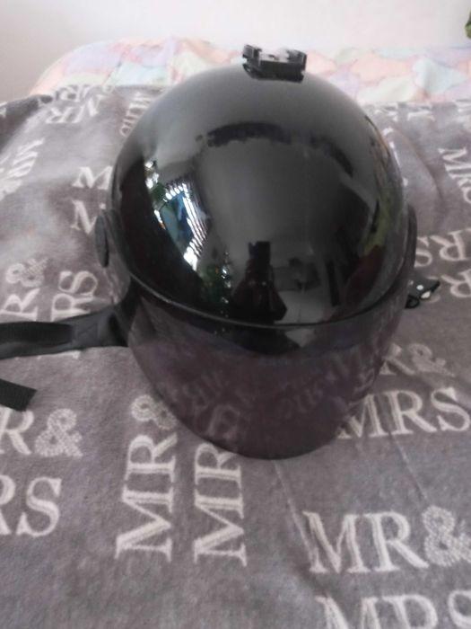 czarny kask na skuter Warszawa - image 1