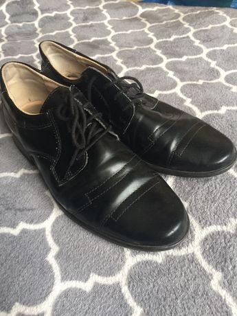 Buty dziecięce garniturowe 35