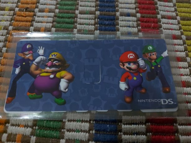 Template Autocolante - Nintendo DS Lite
