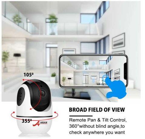 Camera IP Remota Robotizada Alta Definição HD 1080