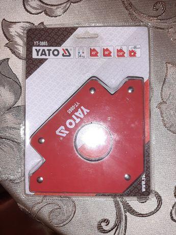 Магніт/Магнит Для сварки зварювання Yato-34кг