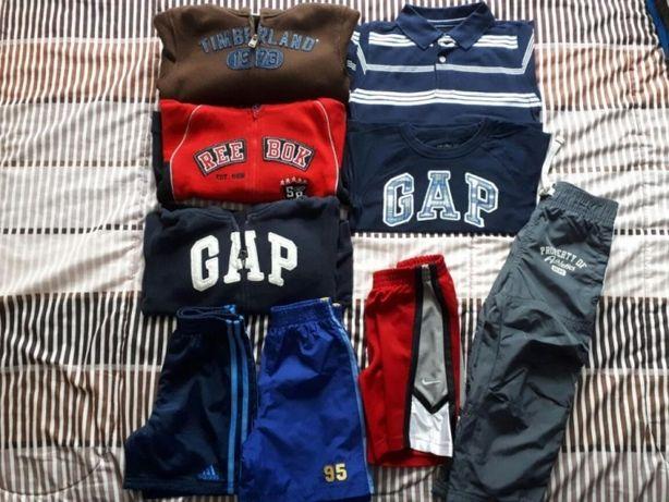 Timberland, Gap, Reebok, NIKE, Adidas, 3 lata-bluza, spodenki,koszulka