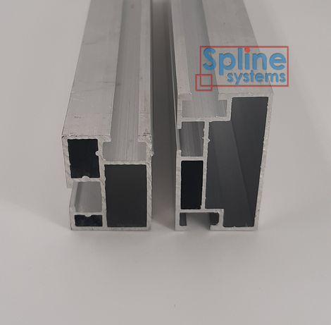 Профиль алюминиевый для установки солнечных панелей