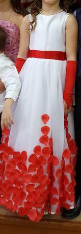 Платье для девочки 8-10лет