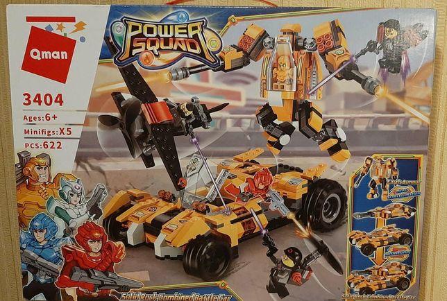 Qman Детский Конструктор: транспорт, роботы, фигурки