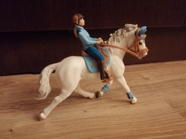 Zestaw Schleich, jeździec z koniem