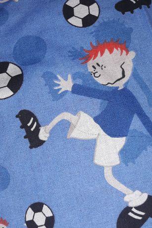 Zasłonki do pokoju dziecięcego dla fana piłki zasłonki chłopięce piłka