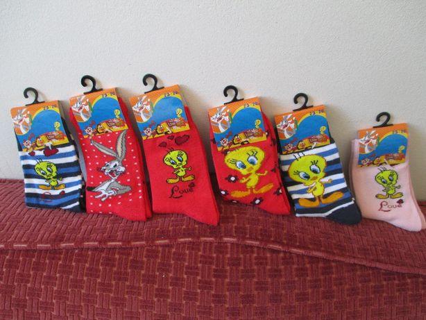 Meias de Criança Looney Tunes/WarnerBros NOVAS
