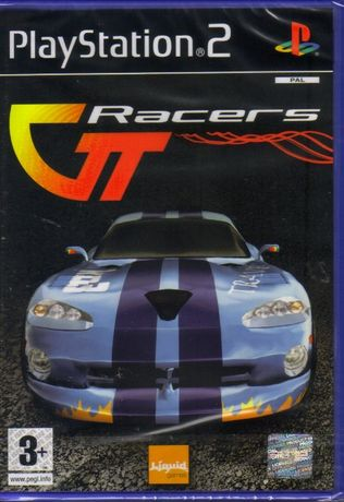 Jogo PS2 GT RACERS - Novo! A ESTREAR! SELADO! Original!
