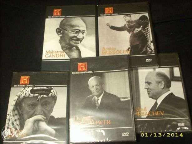 DVD Canal História. 5 vol.