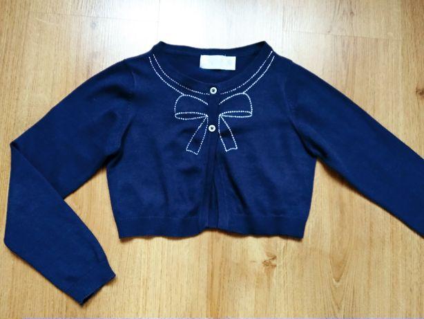 Bolerko, sweterek r. 116 - 122. Z Cool Club