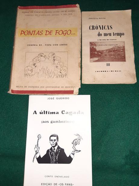 Livros antigos vários temas