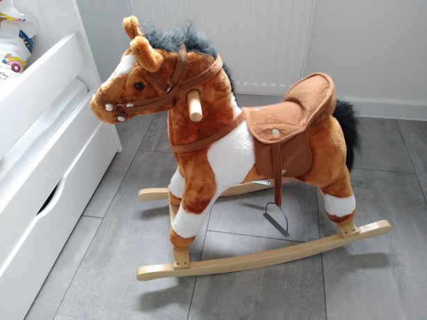 Koń na biegunach Grający