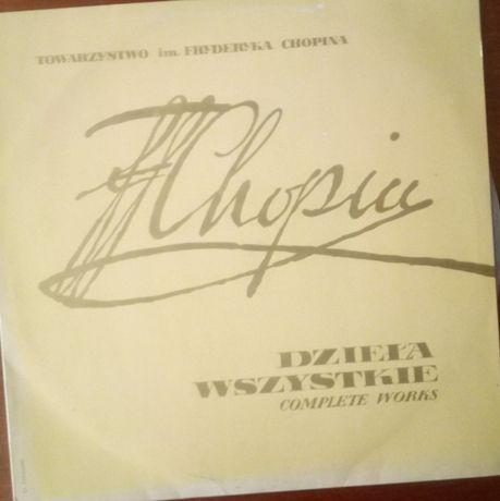 Płyta winylowa F.Chopin Dzieła wszystkie - stan idealny