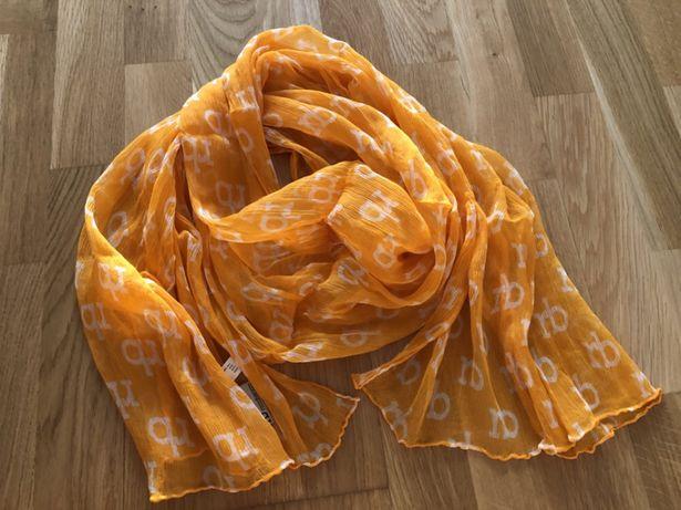 Шарф платок Roccobarocco 100% шёлк