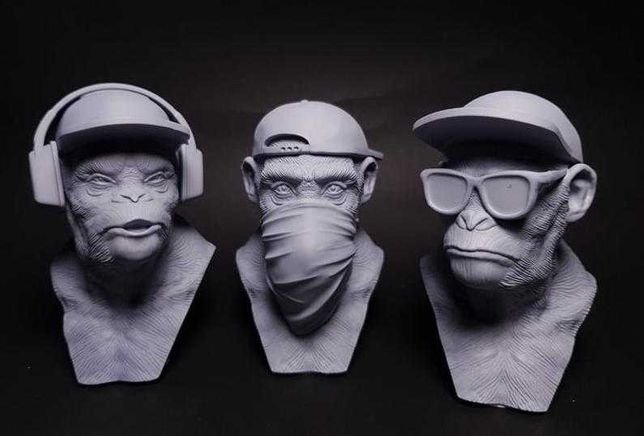 3 Macacos Sabios