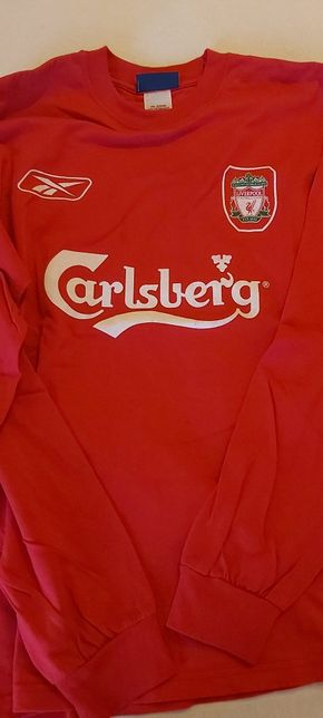 Camisola oficial Liverpool Reebok