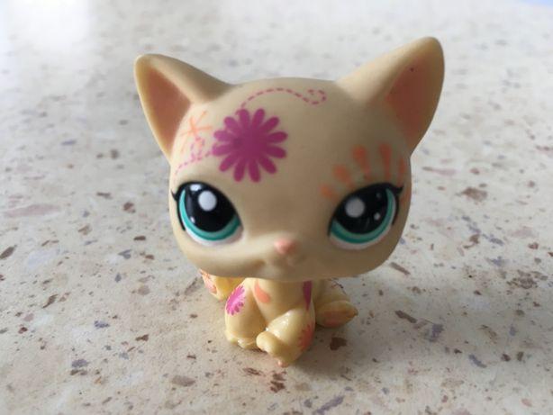 Figurka LPS kotek jansy, beżowy!