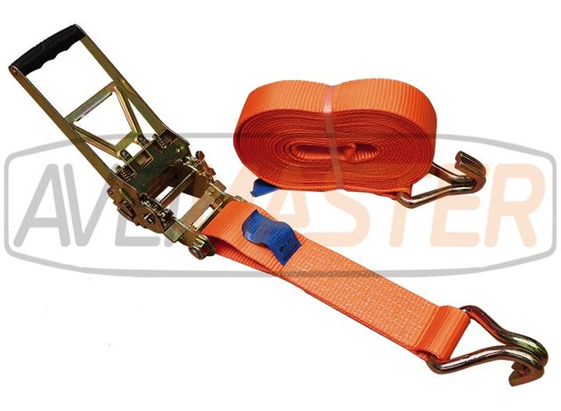 Cinta Amarr c/gancho dup 75mm x 10 mt Roq Invert 10T - 060240