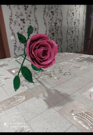 Рози з металу під замовлення