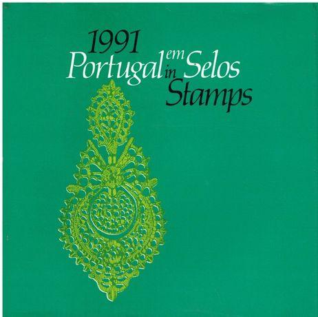2826 - CTT Portugal em Selos ano 1991