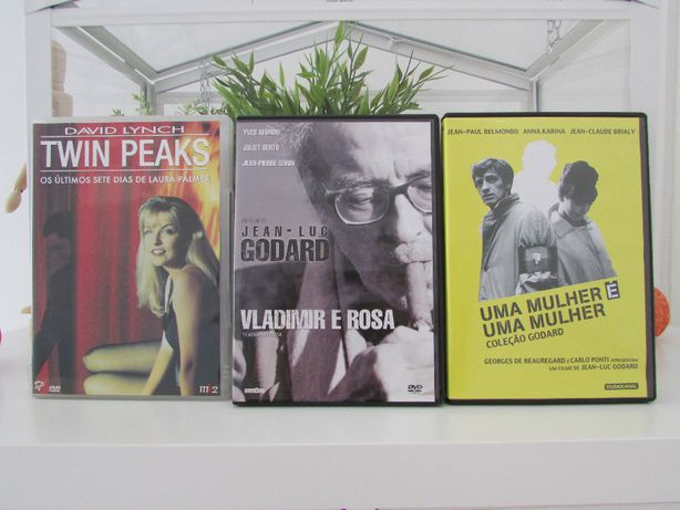 DVD David Lynch e Jean-Luc Godard
