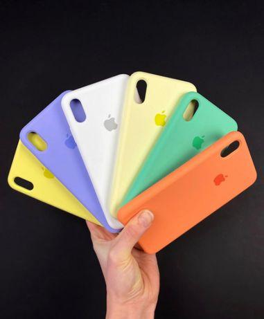 Чехол Silicone Case на Iphone айфон 5 XR MAX 11 PLUS 7 8 Xs pro SE 6 1
