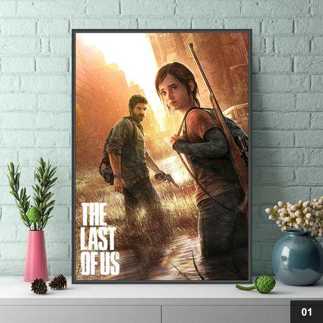 Металлические Игровые Постеры The Last of Us. Много Видов