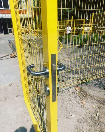 3Д забор,забор из сетки,ограждение из сварной сетки