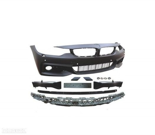 PÁRA-CHOQUES FRONTAL LOOK PACK M BMW SERIE 4 F32 + 2013 COM PDC