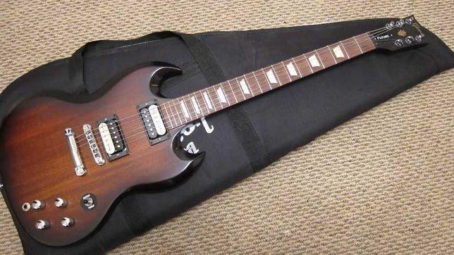 Gibson SG Future Tribute VS 2013 unikalne wypasione SG bez modyfikacji