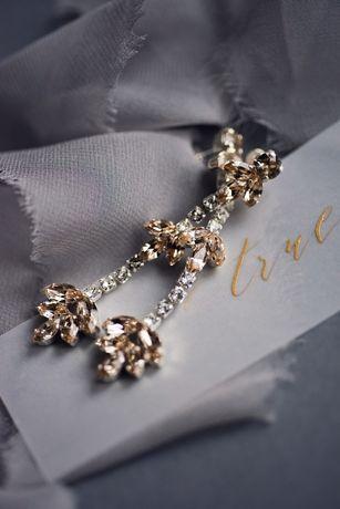 Kolczyki PETTALS White Jasmine Accessories - nowe