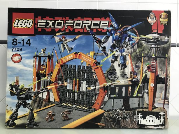 Lego 7709 Exo Force Completo