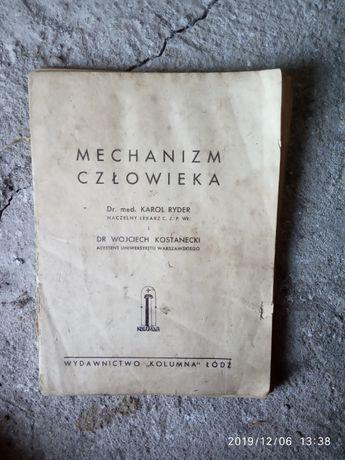 Książka mechanizm człowieka